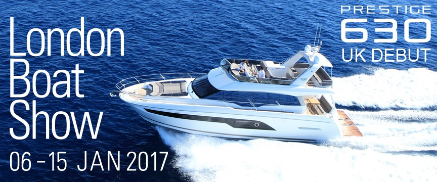 prestige-630-uk-debut-london-boat-show