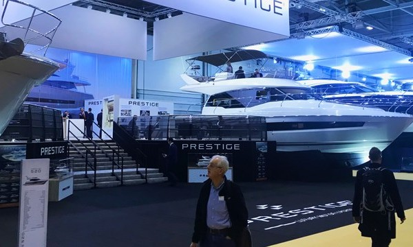 London Boat Show 2018 - Ancasta