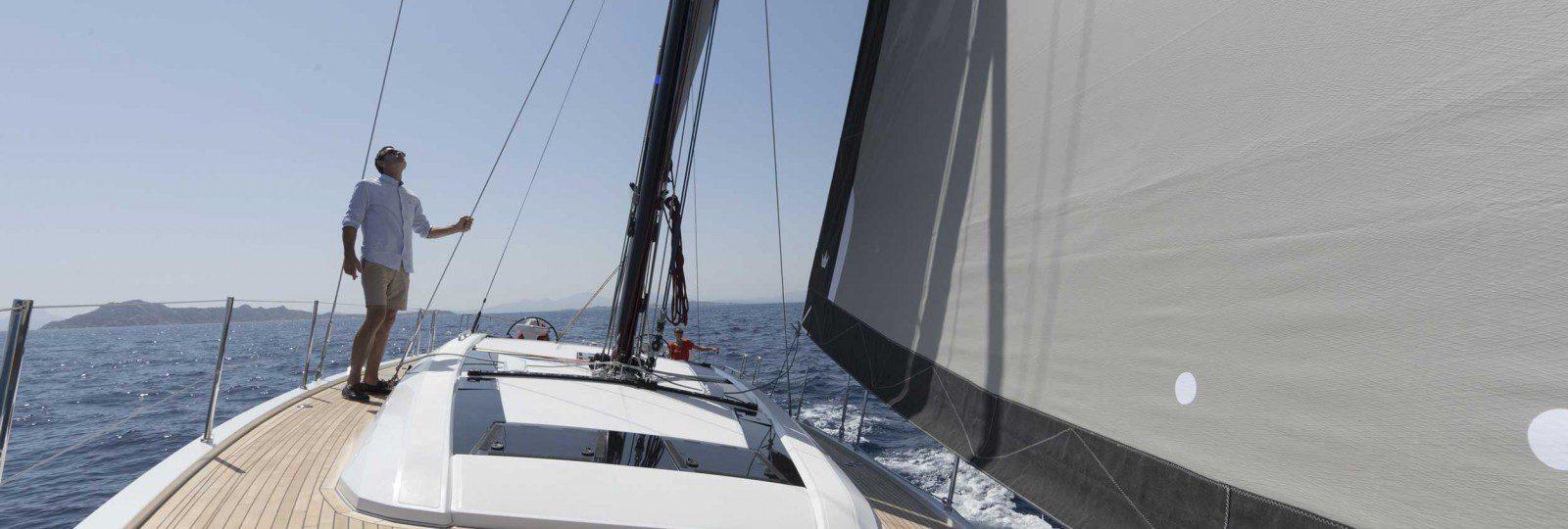 Beneteau Oceanis 51.1 sailing