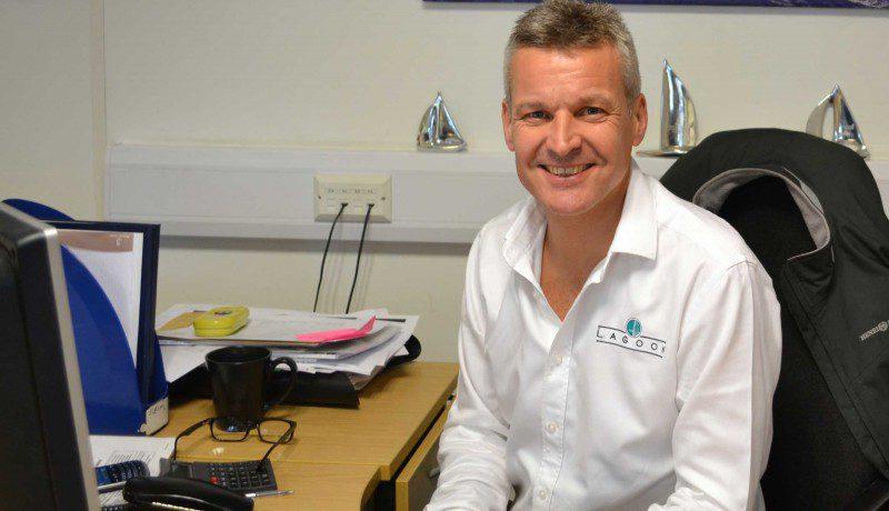Graham Laver Lagoon Brand Manager