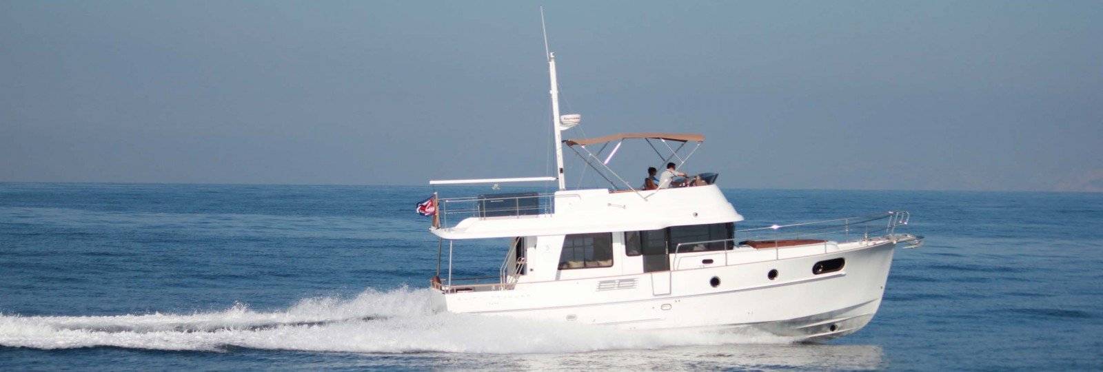Beneteau Swift Trawler 44 running