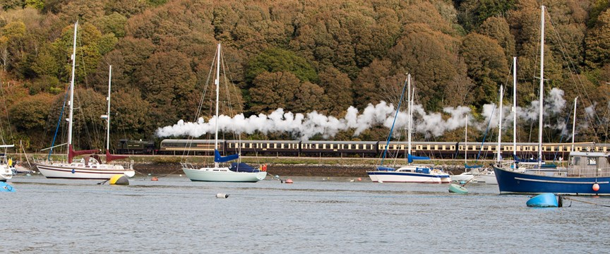 Dartmouth Steam Train - Dartmouth Cruising Guide - Ancasta