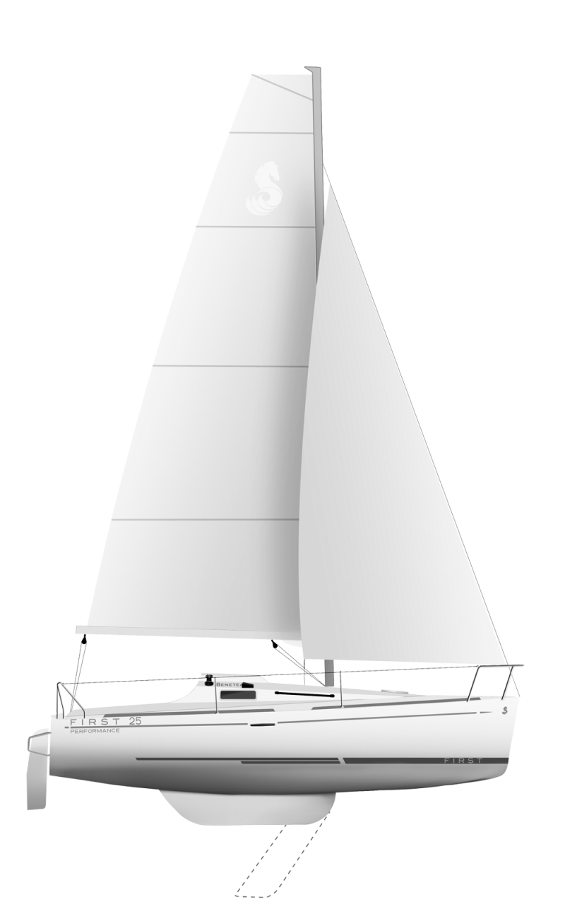 Beneteau First Range Line Drawing