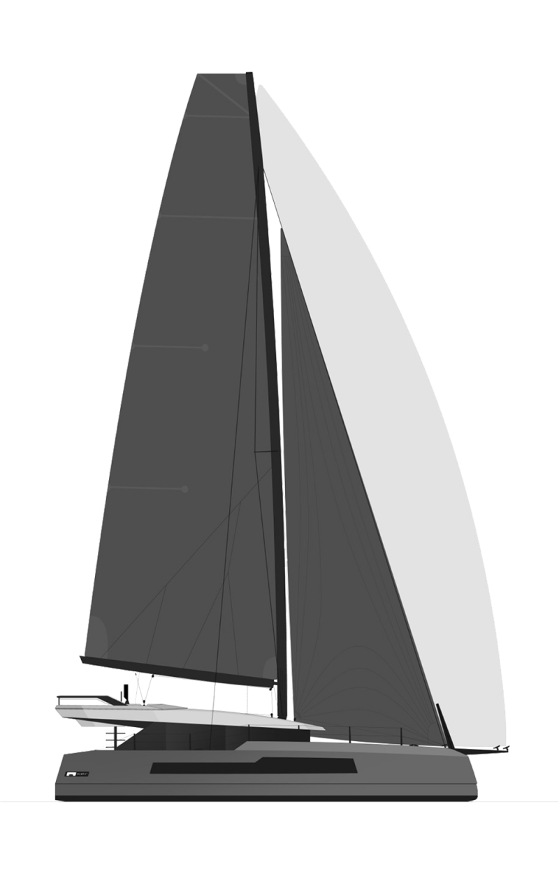 MC Multihulls Line Drawing