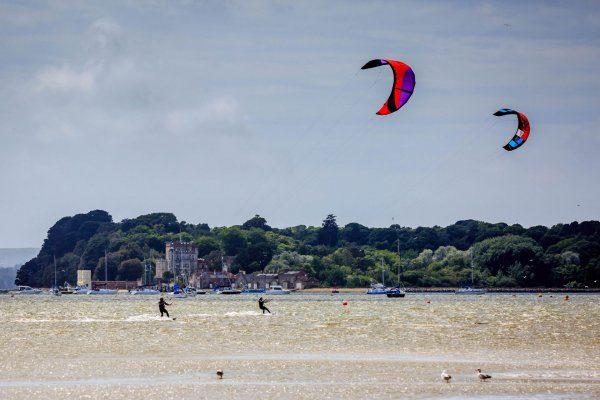 kitesurfing poole