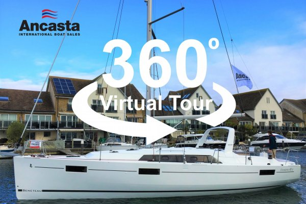 Ancasta 360 tour Beneteau Oceanis 41.1 stock boat