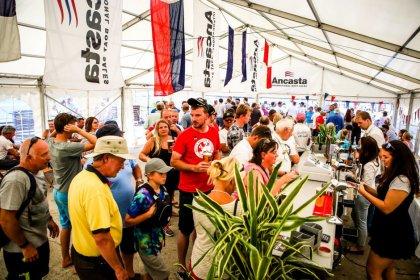 Ancasta Beer tent