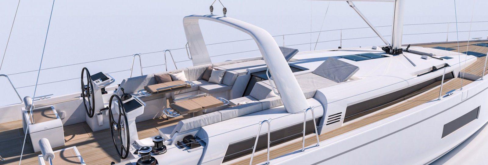 Beneteau Oceanis Yacht 54 cockpit