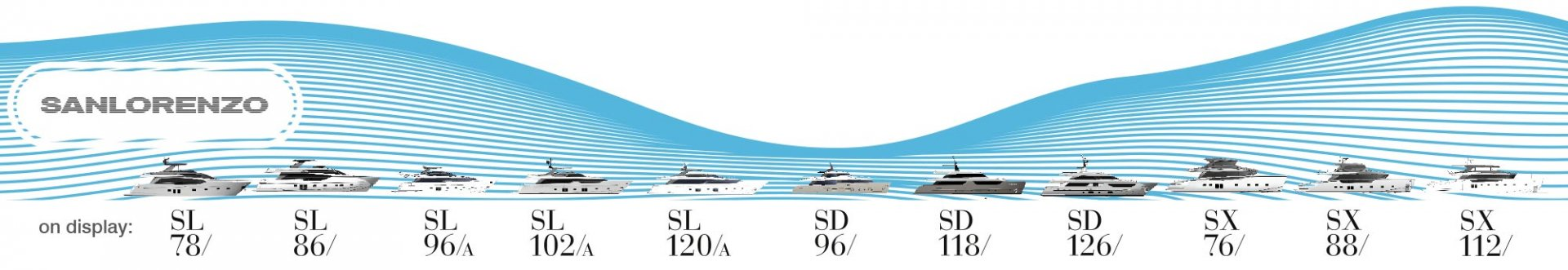 Sanlorenzo line up 2021